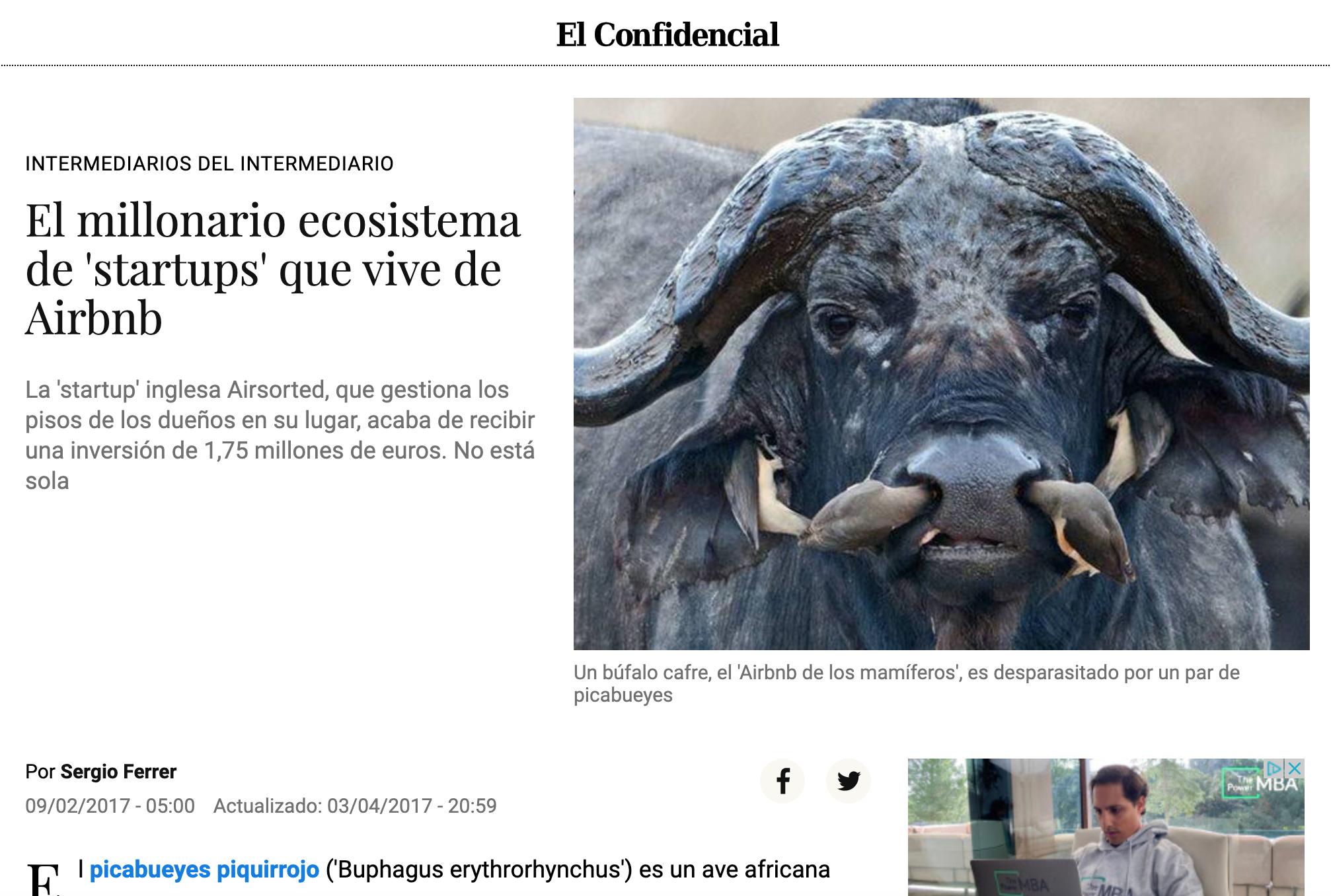 El Confindencial MyRentalHost Prensa